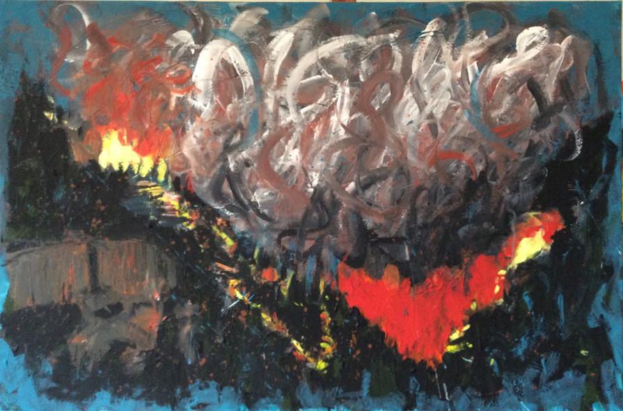 416 Fire Hermosa Cliffs