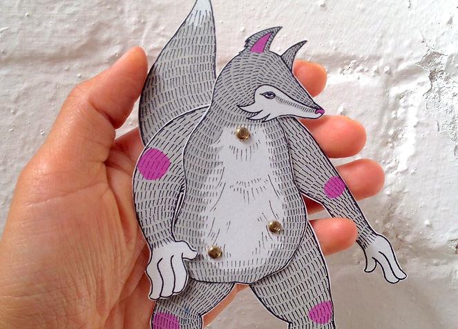 paper puppet workshops