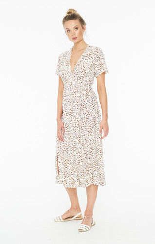 b189228d217 ... FAITHFULL THE BRAND MARA WRAP DRESS IN SABINE FLORAL PRINT FRONT CLOSE  UP