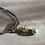 Thumbnail: Pendentif nacre verte et perle de verre