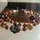 Thumbnail: Bracelet double rang, couleur d'automne