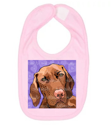 Dog Pop Art Bibs (Breeds S-Y), by April Minech