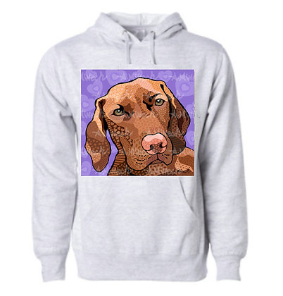 Dog Pop Art Hoodie (Breeds S-Y), by April Minech