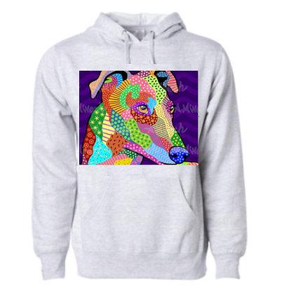 Dog Pop Art Hoodie (Breeds G-K), by April Minech