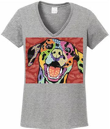 Dog Pop Art Shirts (Breeds D-F) by April Minech