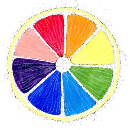 Rainbow Lemon Shirts by Katya