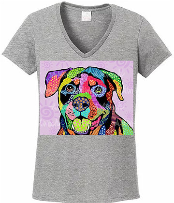 Dog Pop Art Shirts (Breeds L - R) by April Minech