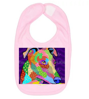 Dog Pop Art Bibs (Breeds G-K), by April Minech