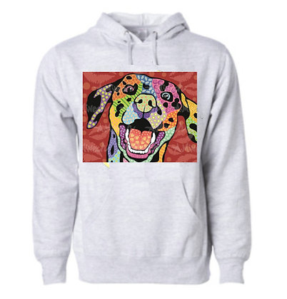 Dog Pop Art Hoodie (Breeds D-F) by April Minech