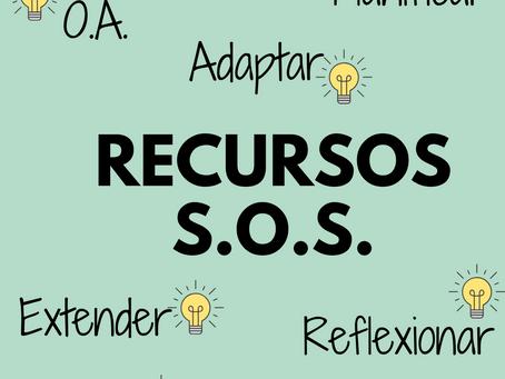 6 IDEAS de cómo usar los Recursos S.O.S. en mis Planificaciones