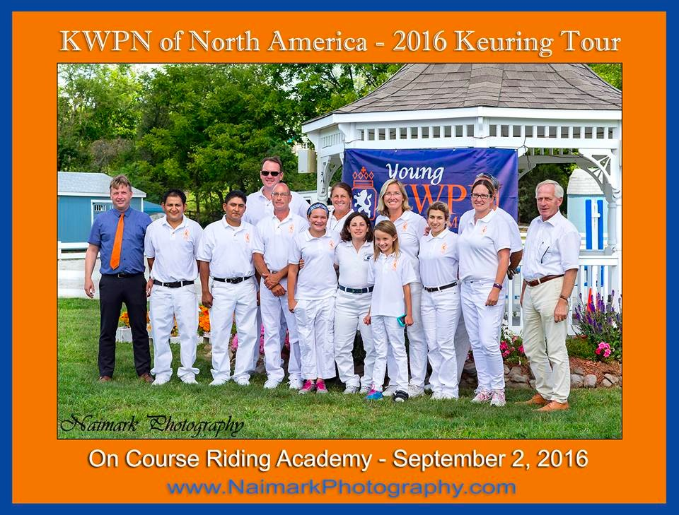 (photo credit Naimark Photography) New Jersey Keuring at On Course Riding Academy