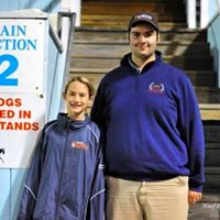 Ryan Jimenez with Tori Belles, winner of Youth Handlers class and Young KWPN-NA Jacket at Dressage a