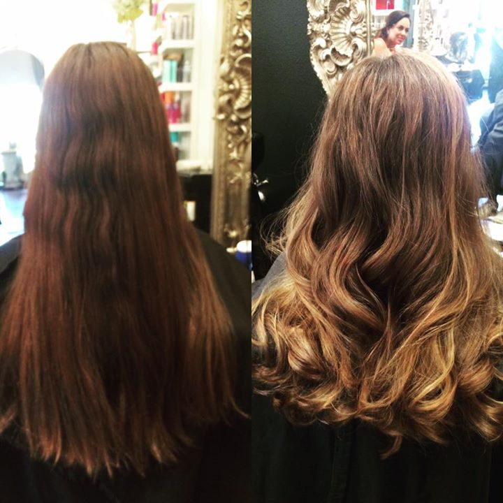 Beautiful subtle balayage I did on a 13 year old this week!! Love this look!!