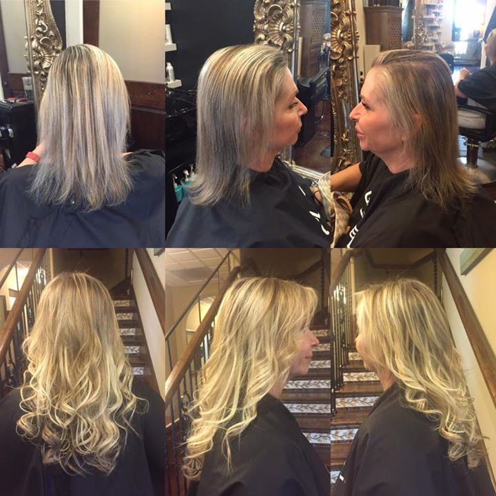 Love this lady and love her big transformation we did yesterday!!