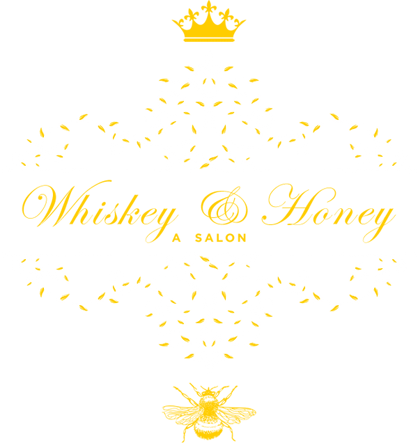 Whiskey and Honey a Salon logo