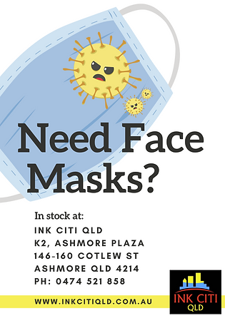 Face Masks now in-stock