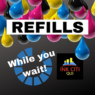 Refills while you wait!