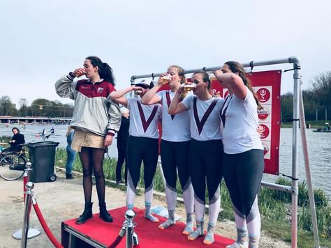 Aireen en Meik shinen op Amsterdam Skøll Cup