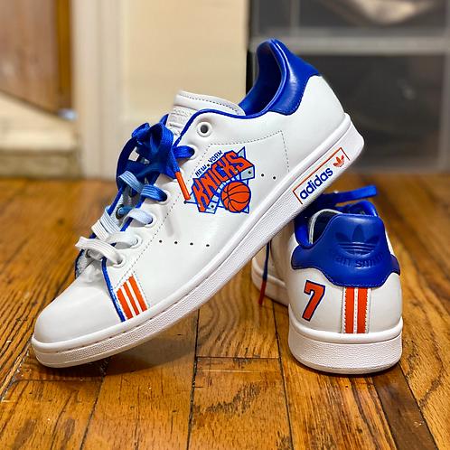 Carmelo Anthony Knicks x Adidas Stan Smith's