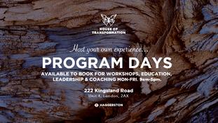 Program Days