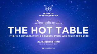 Dine with us at The HOT Table