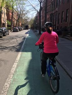 Katherine Ember, AICP biking