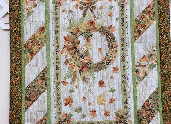 Fall Wreath   Quilt Kit
