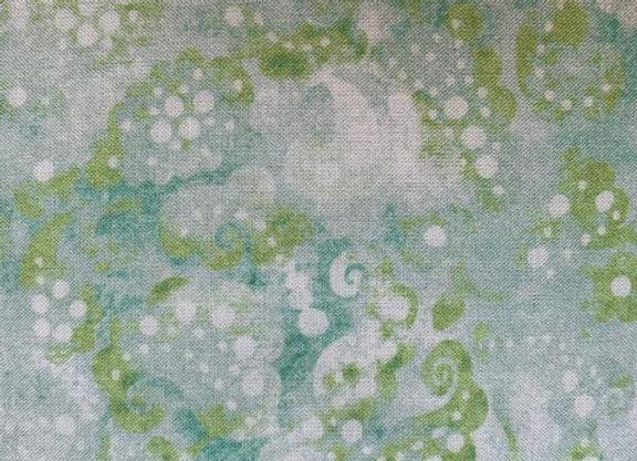 "Green Day Dreams | 108"" Fabric"