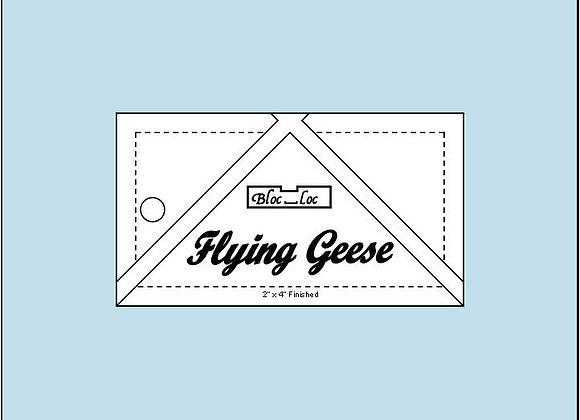 2 x 4 Flying Geese Bloc Loc Ruler
