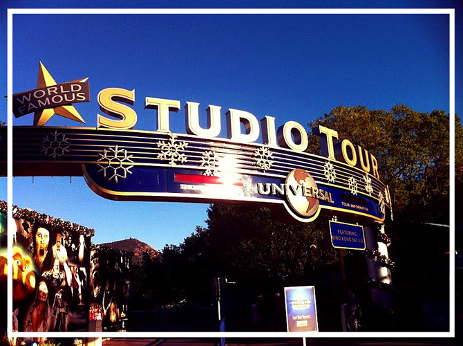 The Universal Studios Backlot - A Creatives Paradise!
