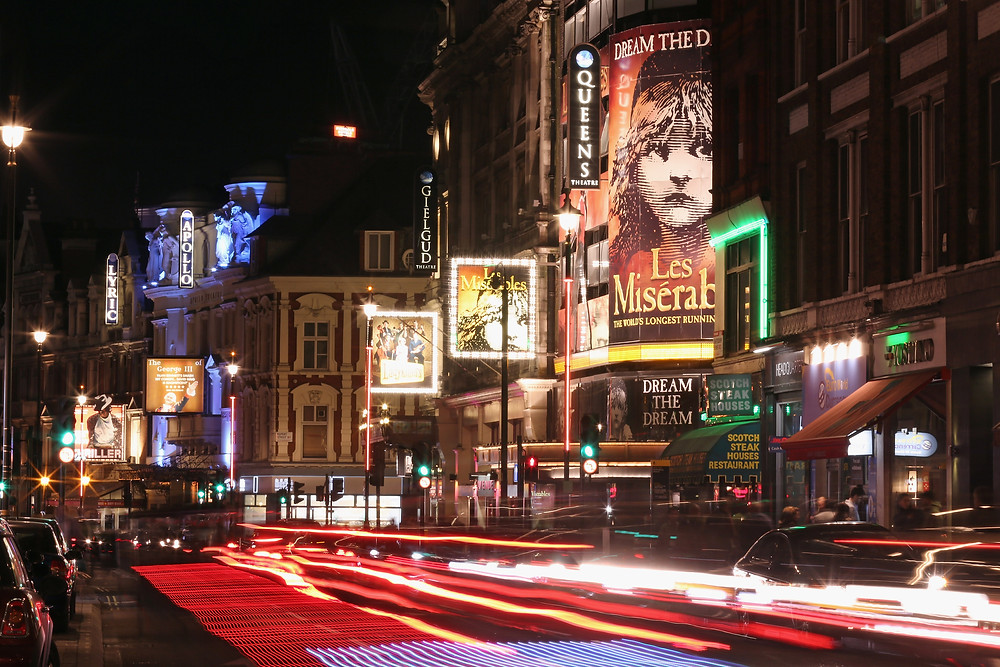 London - Shaftesbury Avenue.