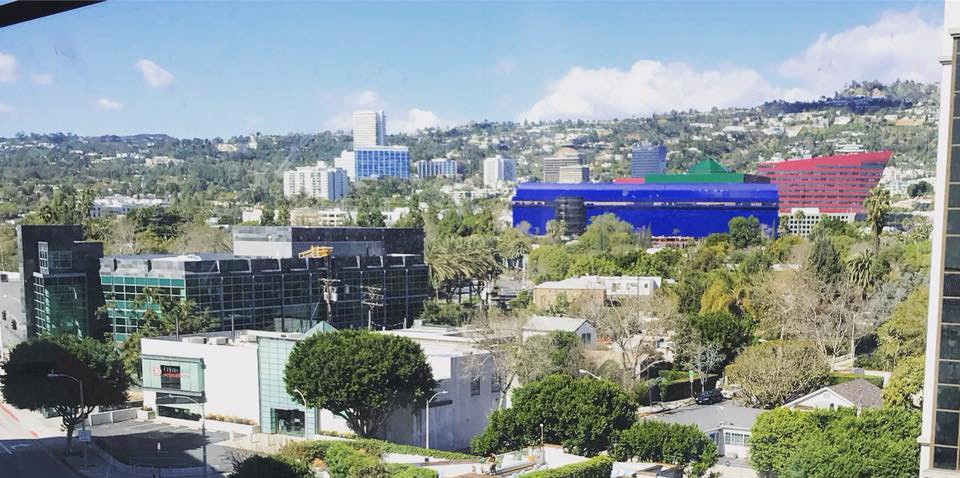 West Hollywood & the Pacific Design Centre.