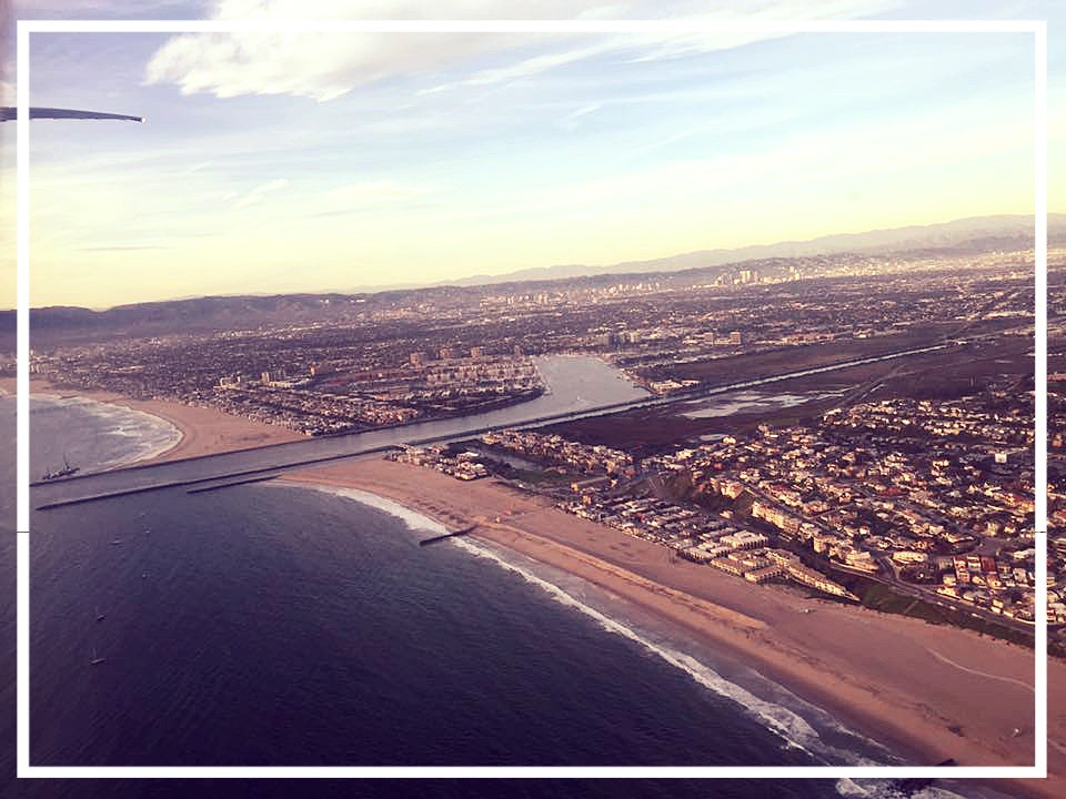Venice Beach and Marina Del Rey.
