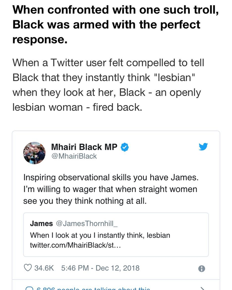 Mhairi Black drops the mic!