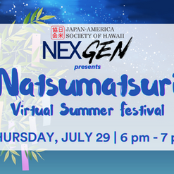 JASH Weekly Update 7/21: DEADLINE EXTENDED to Join Natsumatsuri LIVE