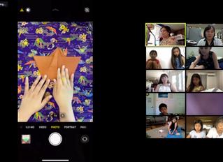 Virtual Origami Tutorial Series with Ashley Nishihara