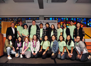 TOP HIGH SCHOOL STUDENTS COMPETE FOR TRIPS TO JAPAN AT THE 17TH ANNUAL JASH JAPAN WIZARDS STATEWIDE