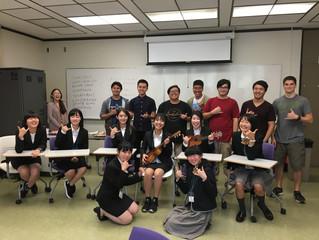 UH Manoa Students Host Group from Nagaoka, Japan