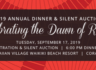 43rd Annual Dinner & Silent Auction