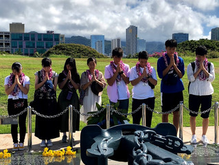 EPIC Ehime-Hawaii High School Exchange Program Participants Visit Punahou and St. Louis