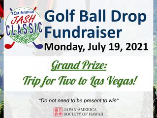JASH Weekly Update 5/27: Golf Ball Drop-Win a Trip to Las Vegas!
