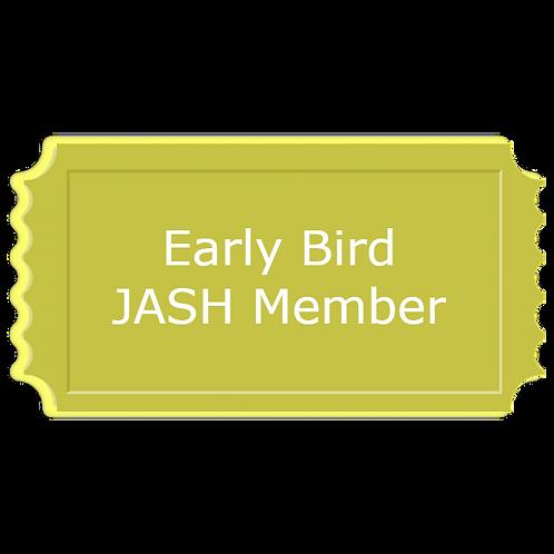 Early Bird JASH Member