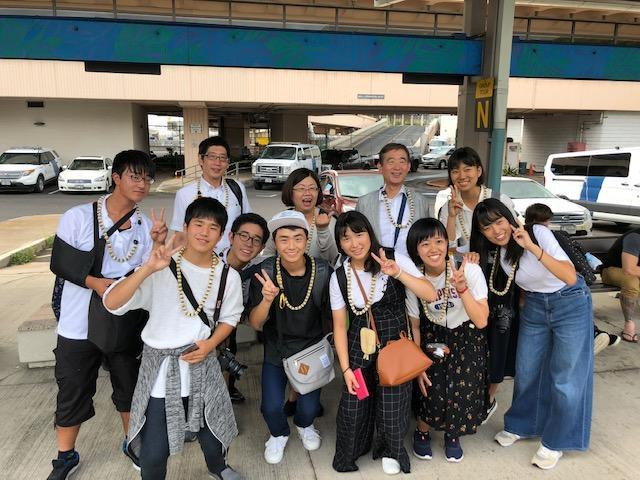 EPIC students arrive at the Honolulu International Airport