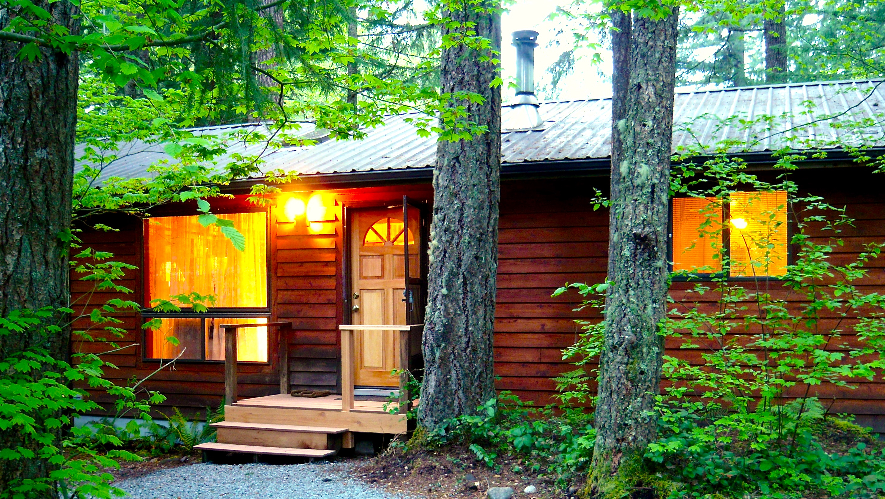 Betsy S Cabins At Mount Rainier