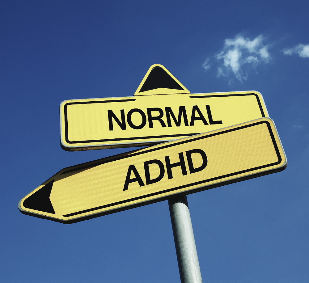 Signpost choice ADHD vs normal