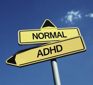 Signpost choice ADHD vs normal