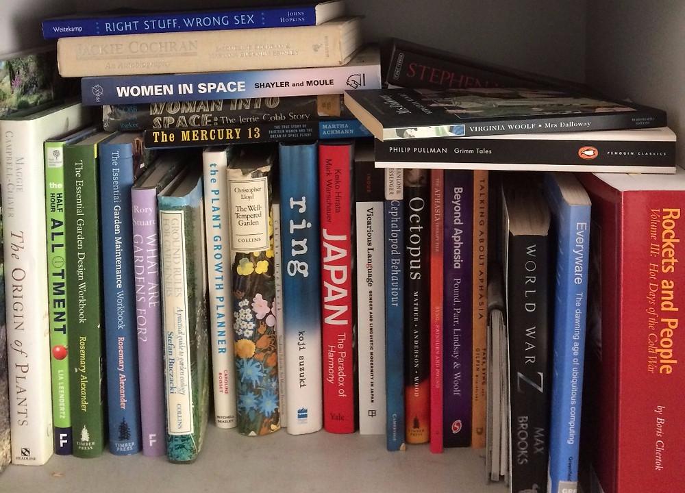 Anita Sullivan, a playwright's book shelf