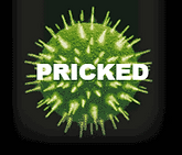 'Pricked' show poster HIV virus