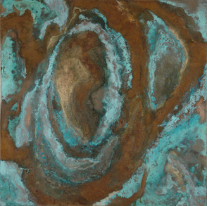 'Strata 2' an abstract painting by Ben Fearnside
