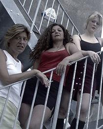 Brighton cast of 'Just Whores' by Anita Sullivan